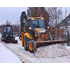 уборка снега тракторами