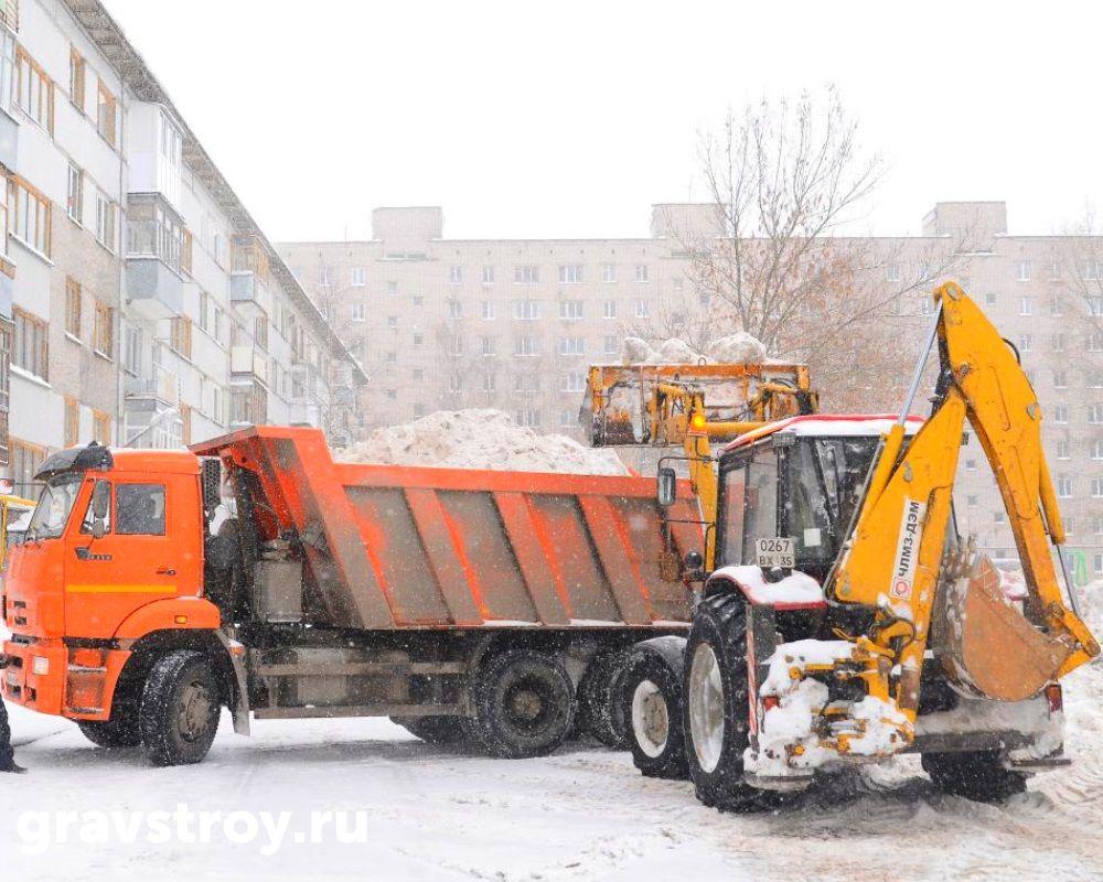 уборка снега чебоксары