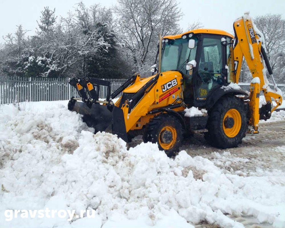 уборка снега цена