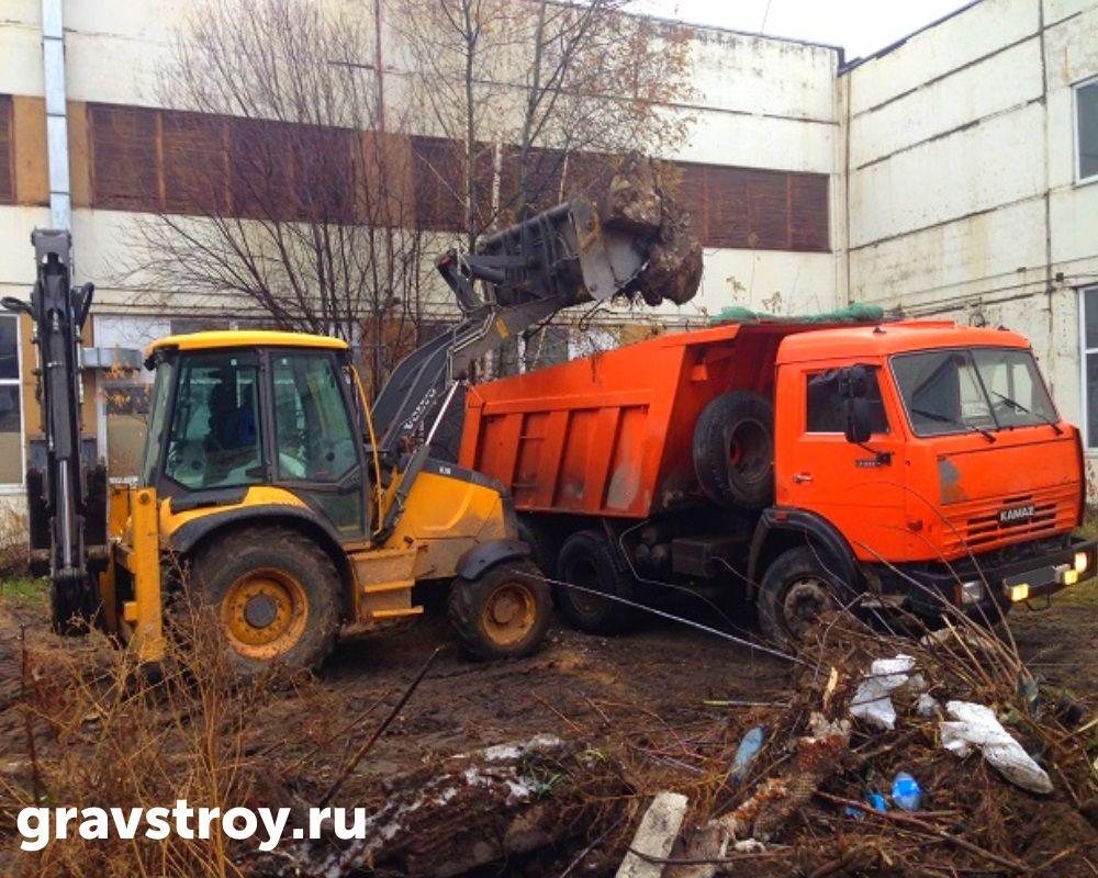 вывоз строительного